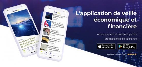 L'application mobile qui bouscule l'actualité économique et financière