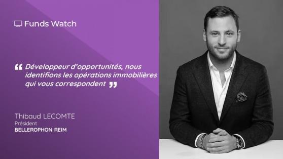 Thibaud LECOMTE, Président de BELLEROPHON REIM : « Développeur d'opportunités, nous identifions les opérations immobilières qui vous correspondent »