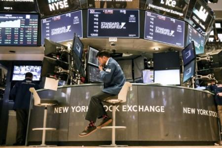 Des tradeurs au New York Stock Exchange, le 7 novembre 2018 (Photo Alex Wroblewski. GETTY IMAGES NORTH AMERICA)