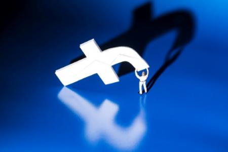 Début octobre, Facebook avait annoncé des initiatives au niveau mondial pour lutter contre le harcèlement en ligne (Photo JOEL SAGET. AFP)