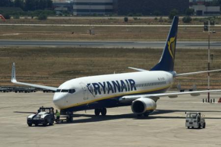 La compagnie à bas coûts Ryanair fait face à un nouveau conflit social d'ampleur européenne (Photo JOSE JORDAN                   . AFP)