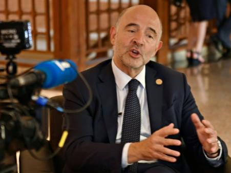"""Taxation des Gafa: un accord européen d'ici fin 2018 est """"jouable"""", selon Moscovici"""
