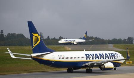 Ryanair est en phase d'expansion en Allemagne, où la compagnie opère depuis plusieurs aéroports dont celui de Francfort-Hahn (photo DPA) (Photo Thomas Frey. dpa)