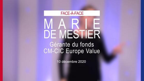 Interview de Marie de Mestier, gérante du fonds CM-CIC Europe Value