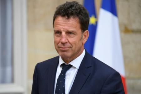 Le président du Medef Geoffroy Roux de Bézieux à Matignon, le 30 août 2018 (Photo BERTRAND GUAY. AFP)