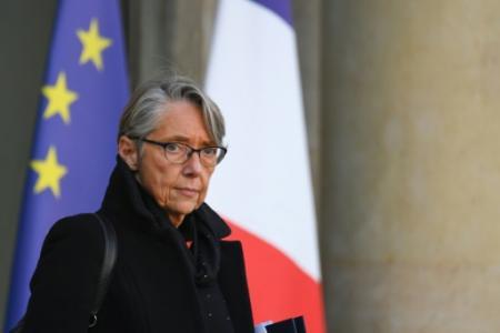 Elisabeth Borne quitte le palais de l'Elysée le 21 novembre 2018 (Photo Alain JOCARD. AFP)
